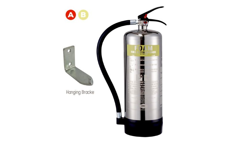 6ltr Foam Extinguisher Stainless Steel