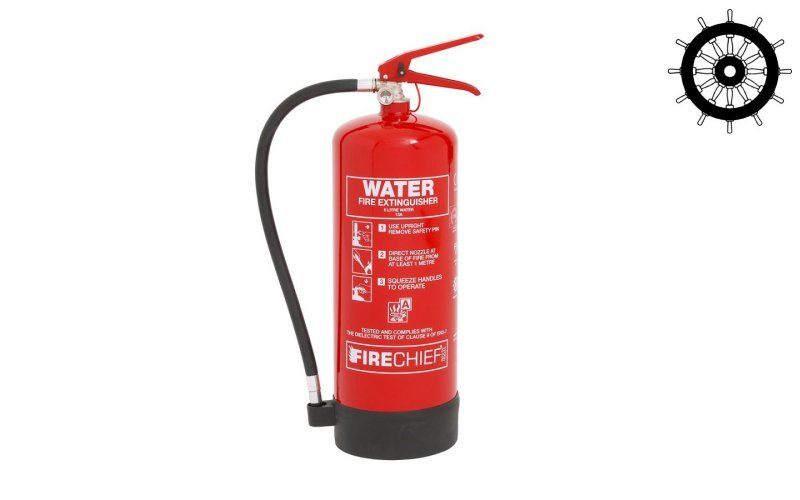 6ltr Water Fire Extinguisher