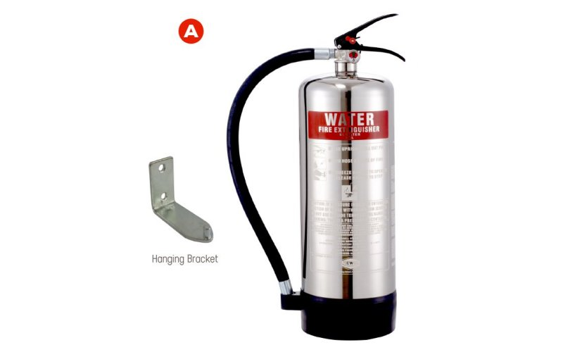 6ltr Water Extinguisher Stainless Steel